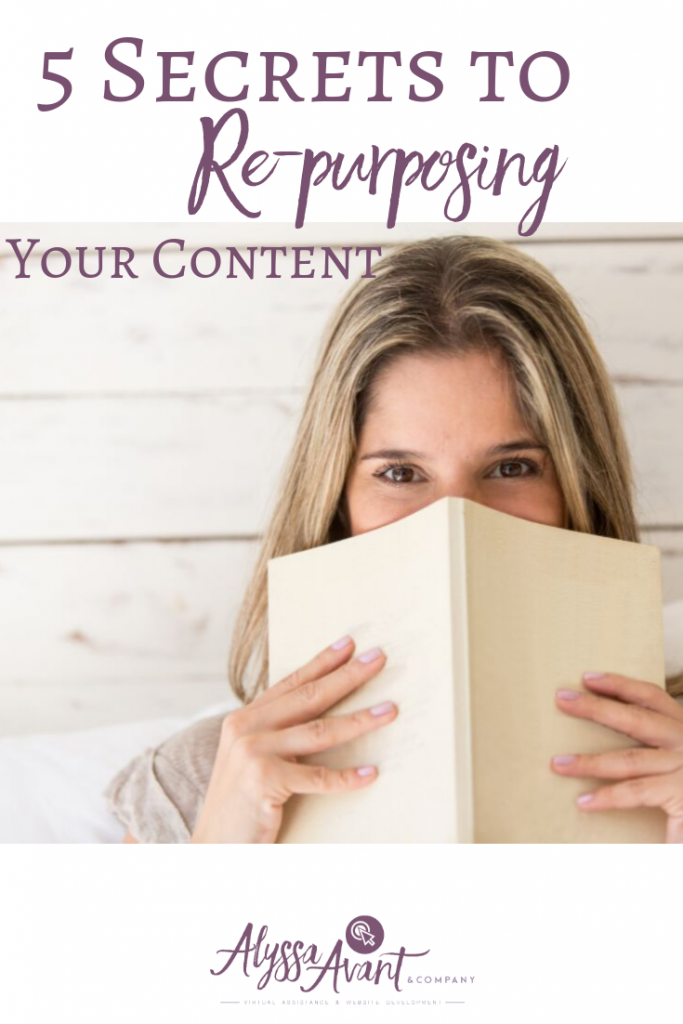 repurposing your content