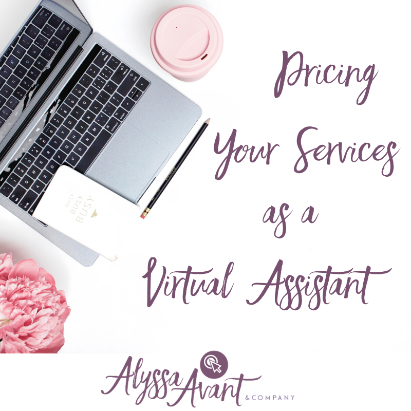 Pricing Your Services as a Virtual Assistant