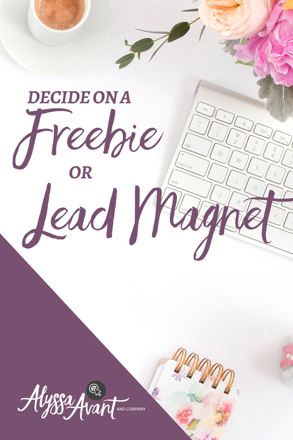 Decide on a Freebie or Lead Magnet
