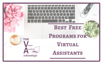 Best Free Programs for Virtual Assistants