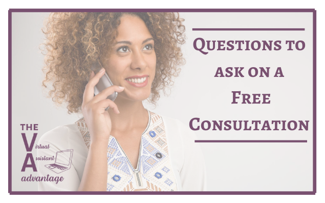 Questions to Ask a Potential Client on a Free Consultation