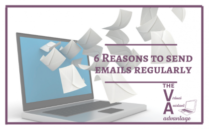 6 Reasons to Send Emails Regularly