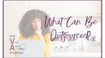 What Can Be Outsourced