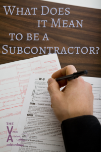 What Does it Mean to be a Subcontractor?