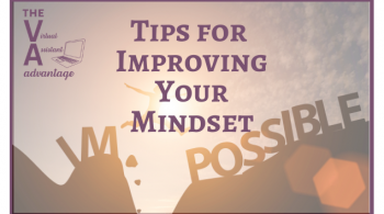Tips for Improving Your Mindset