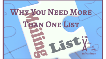 Why You Need More Than One List