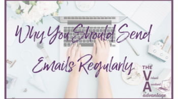 why you should send emails regularly