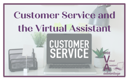 customer service and the virtual assistant